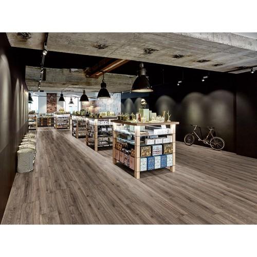 Виниловый пол Egger Дуб покрашенный серый коллекция Design+ ED4030